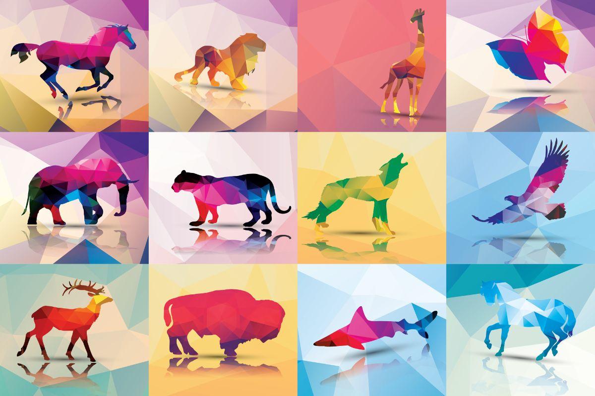 budowa logo zwierzęta