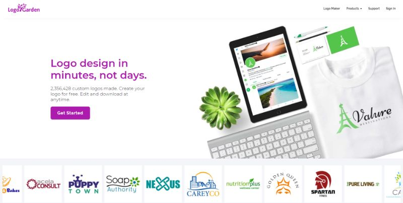 program do tworzenia logo po polsku logogarden