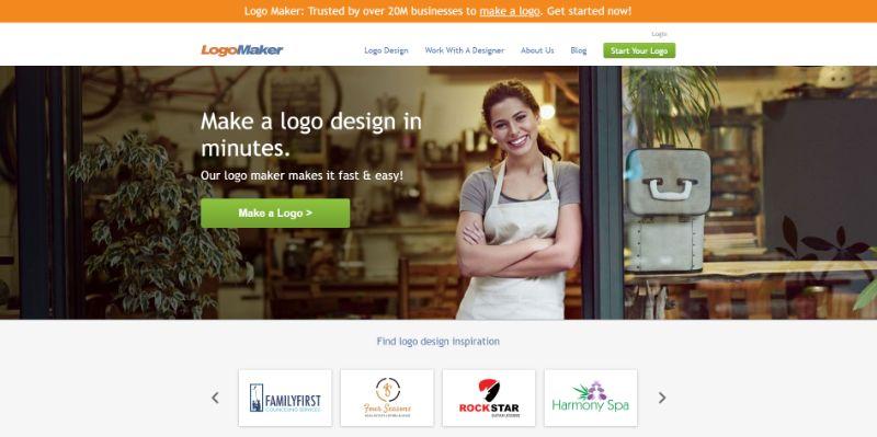 program logo maker do tworzenia logo online